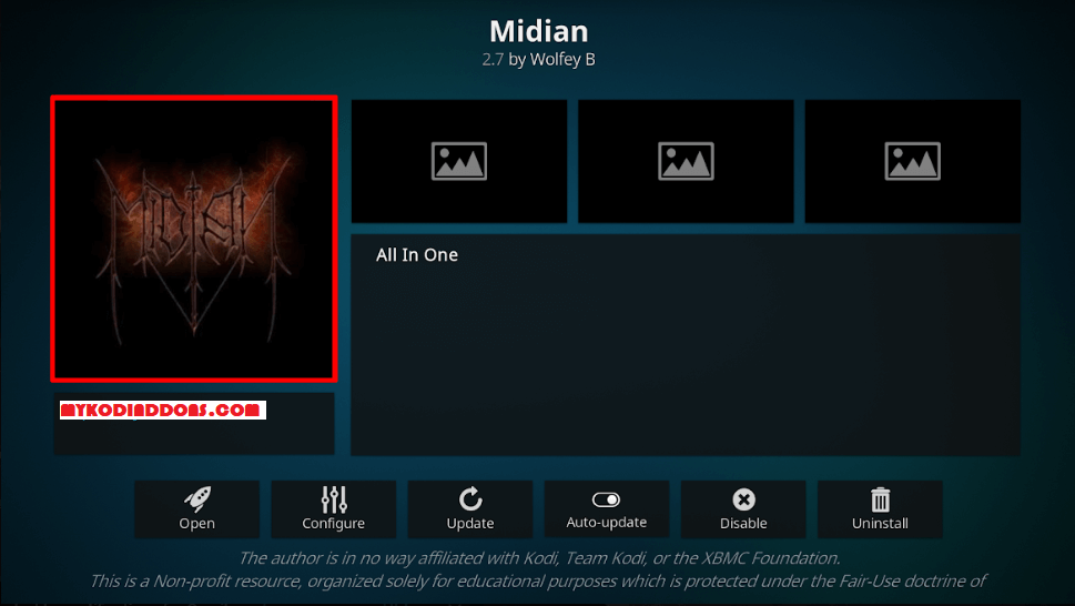 How to Install Midian Kodi Addon on Krypton
