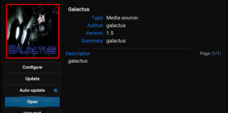How to Install Galactus Kodi Addon