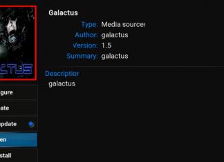 How to Install Galactus Kodi Addon