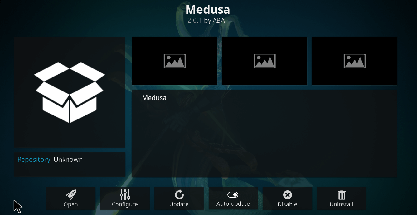 How to Install Medusa Kodi Addon