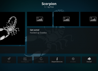 How to Install Scorpion Kodi Addon