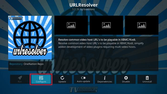 Configure URLResolver for RD