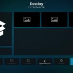 Install Destiny Addon