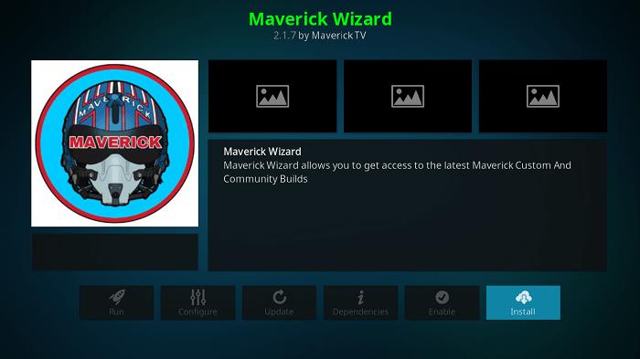 Install Maverick Wizard