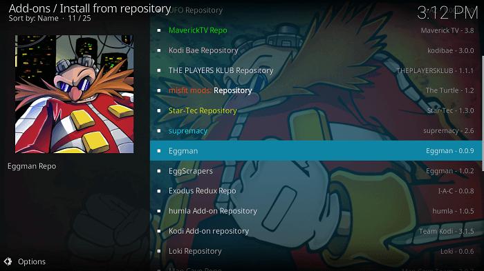 Select Eggman Repository