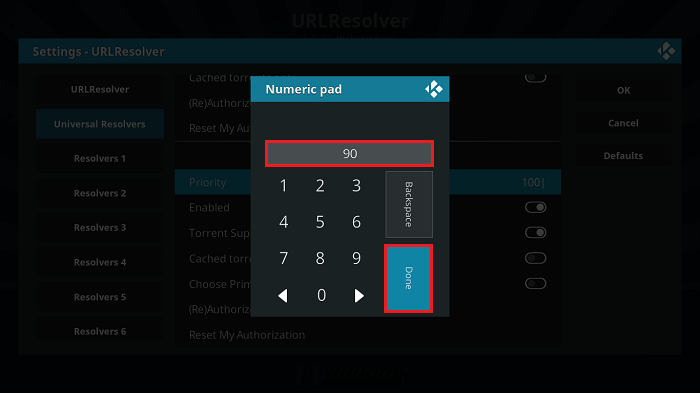 Set Priority on URLResolver