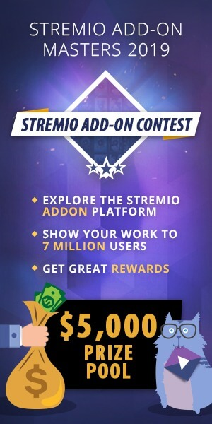Stremio Addon contest banner