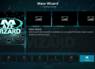 How to Install Maze Kodi Build