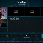 Install Voodoo Addon on Kodi Leia