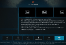 How to Install IT Kodi Addon