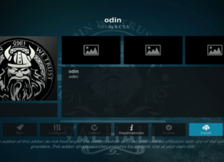 How to Install Odin Kodi Addon on Leia