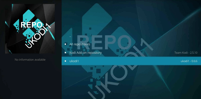 How to Install UKodi1 Repository on Kodi Leia