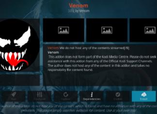 How to Install Venom Kodi Addon