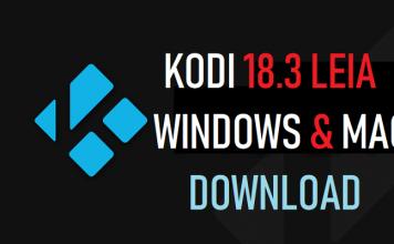 Kodi For Windows & Mac Download