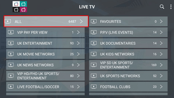 Helix TV IPTV Features