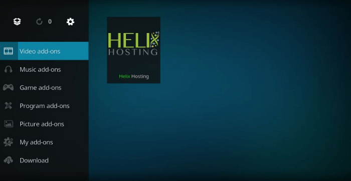 How to Install Helix IPTV Kodi Addon