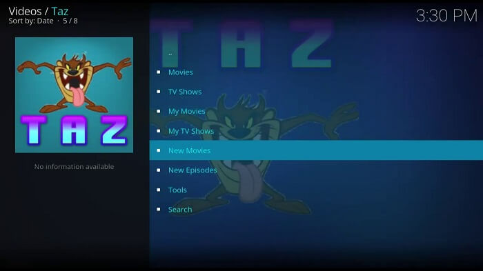 How to Install Taz Kodi Addon