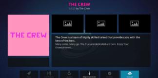 How to Install The Crew Kodi Addon on Leia